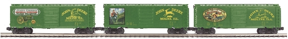 Picture of John Deere 40' Boxcar 3-Car Set