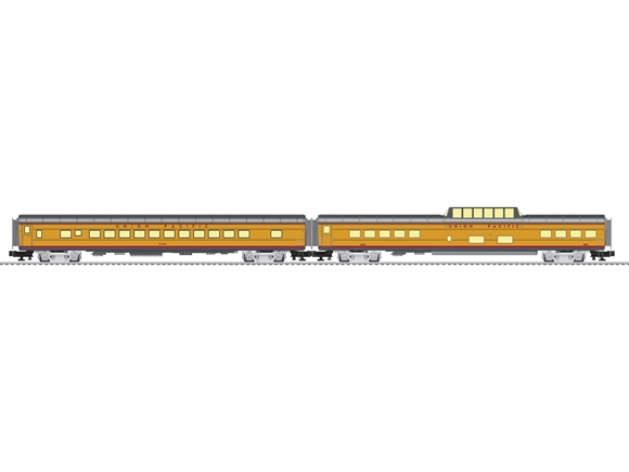 "Picture of Union Pacific Challenger 21"" Expansion 2-pack #3"