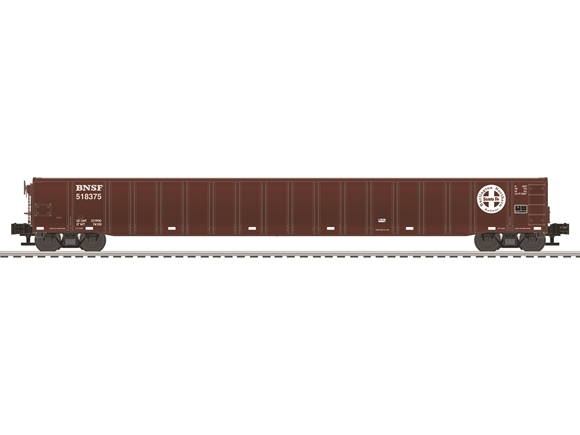 Picture of BNSF 65' Mill Gondola Car #518375