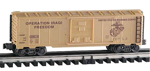 Picture of Operating Iraqi Freedom US Marines Boxcar w/crates