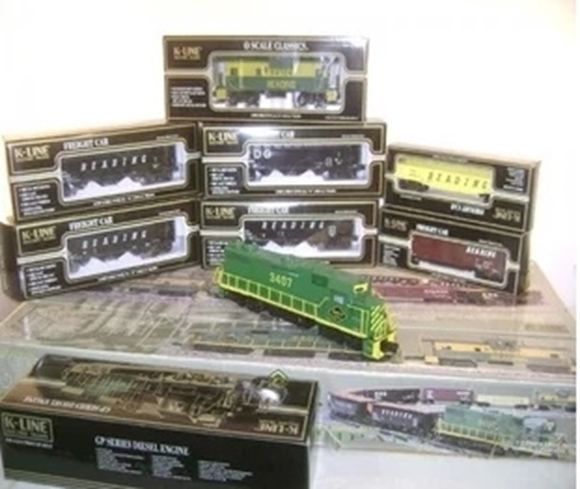 Picture of K-line Reading Diesel Mining Freight Set