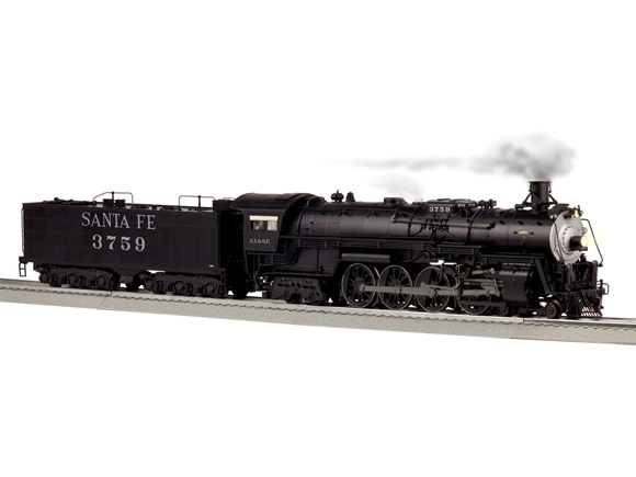 Picture of Santa Fe LEGACY 4-8-4 Locomotive #3759