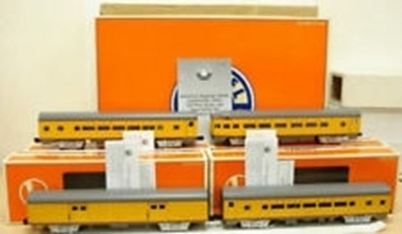 "Picture of Union Pacific 15"" 4-car Passenger set"