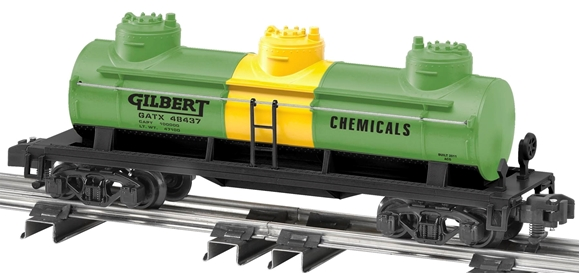 Picture of Gilbert Oil 3-Dome Tank Car