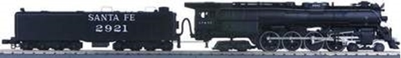 Picture of Santa Fe Northern #2921 Locomotive w/ProtoSound 1