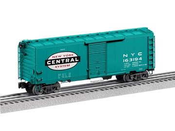 "Picture of New York Central 'Flat Spot"" FreightSounds Boxcar"
